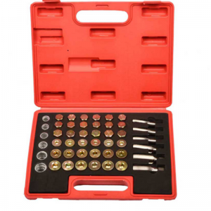 JC9194  114pc Oil Pan Drain Plug Sump Bolts Thread Repair Tool Kit Set