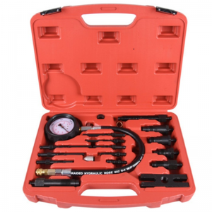 JC9212 Automotive tool Universal Diesel Engine Compression Tester Set kit for Truck