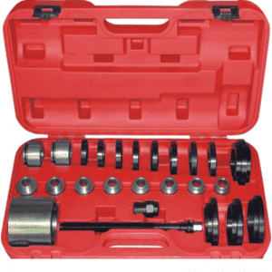 JC9404  Professional vehicle tools 25 Pcs Front Wheel Drive Bearing Removal Installation Tool Set