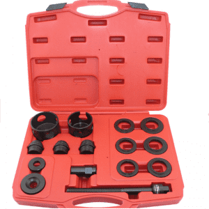 JC9405  15 Pcs Front Wheel Drive Vehicles Bearing Removal Service Tool Kit
