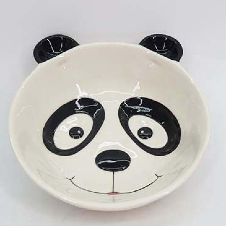 Panda Bowl, Ceramic Animal Hanga Bowl, he peihana Ritenga Ceramic