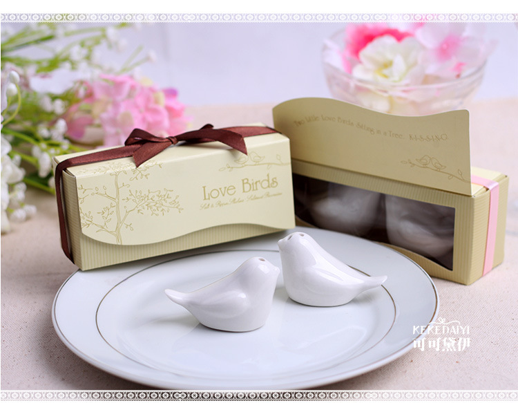Love bird salt and pepper shaker(Customized any shape you want)