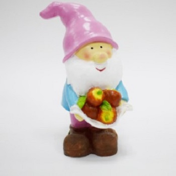 Custom cheap resin Santa figure resin statue Christmas decoration