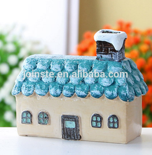 Custom cheap resin handmade painting house home decoration crafts