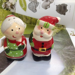 Christmas ceramic decoration