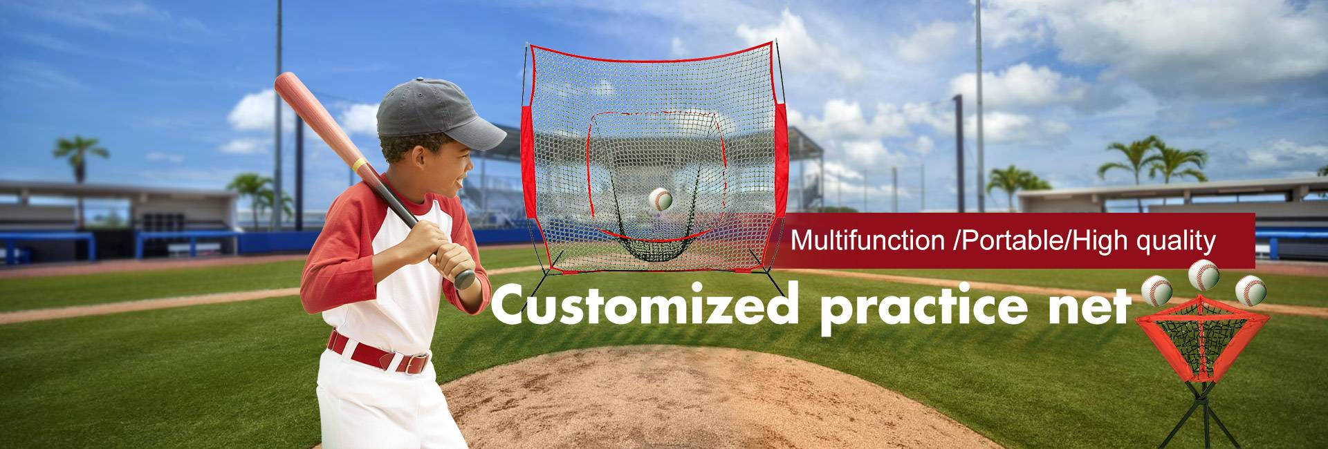 Customized practice net