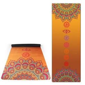 Exercise Mats suede rubber yoga mat 4
