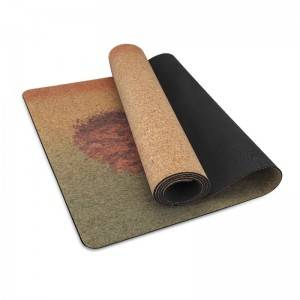 Eco Cork Yoga Mat yoga mat made from 100% natural materials