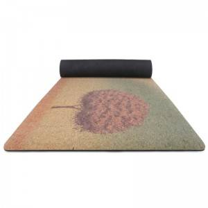 Yoga Mat Cork yoga mat made from 100% natural materials