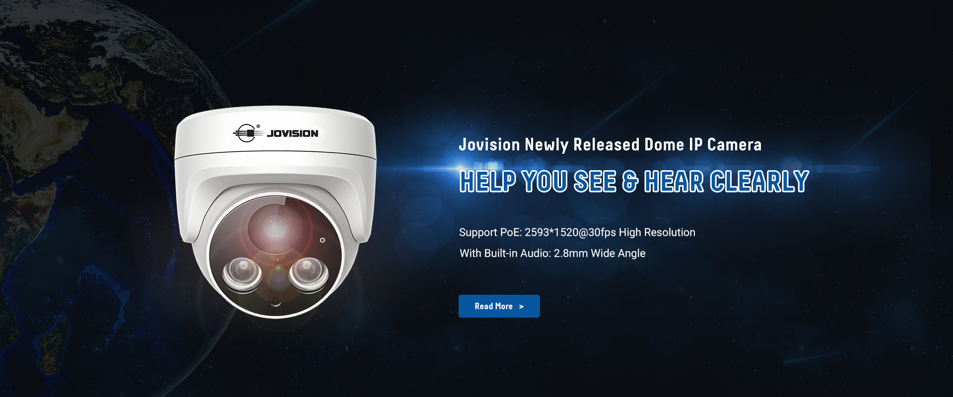 JVS-N945-HY 4.0MP Eyeball Audio Camera