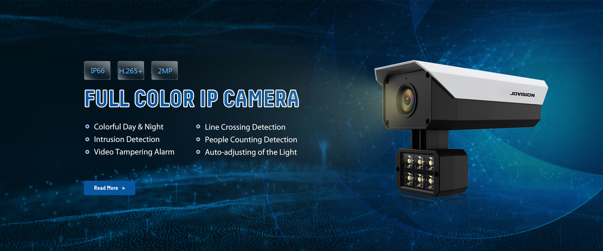 Camera CANKACAC-N816-LYS 2.0MP H.265 Full Color IP