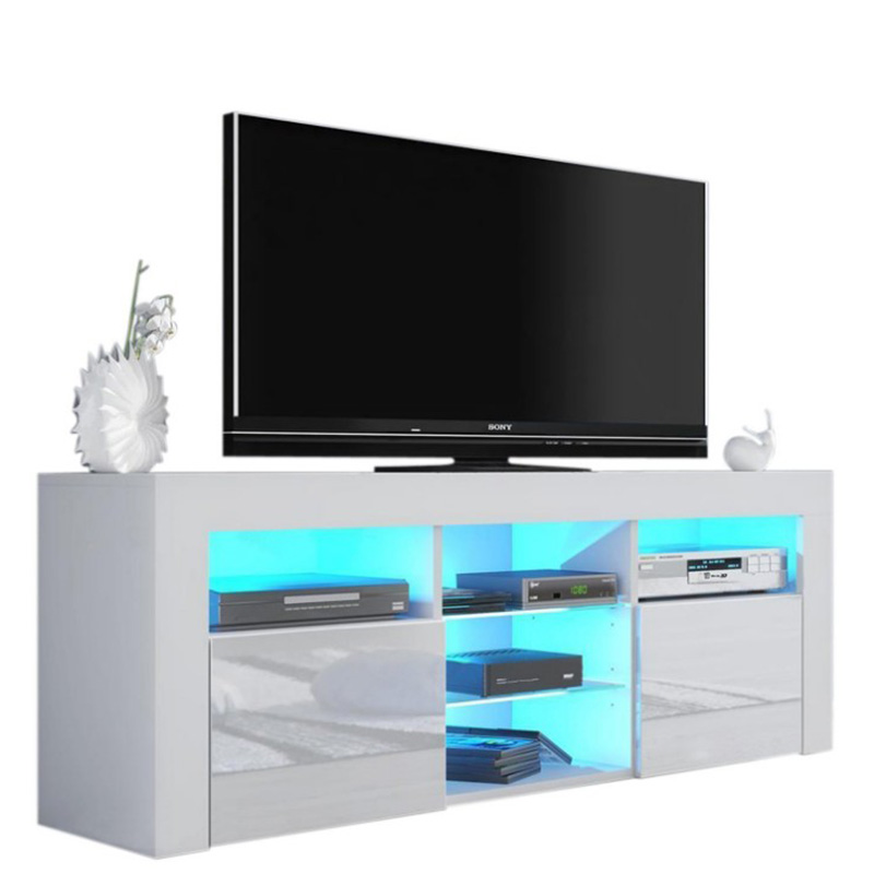 Wholesale Living Room Coffee Table - Tv Cabinet Wood Led Tv Stand Living Room Furniture Partition Tv Stand – Joysource