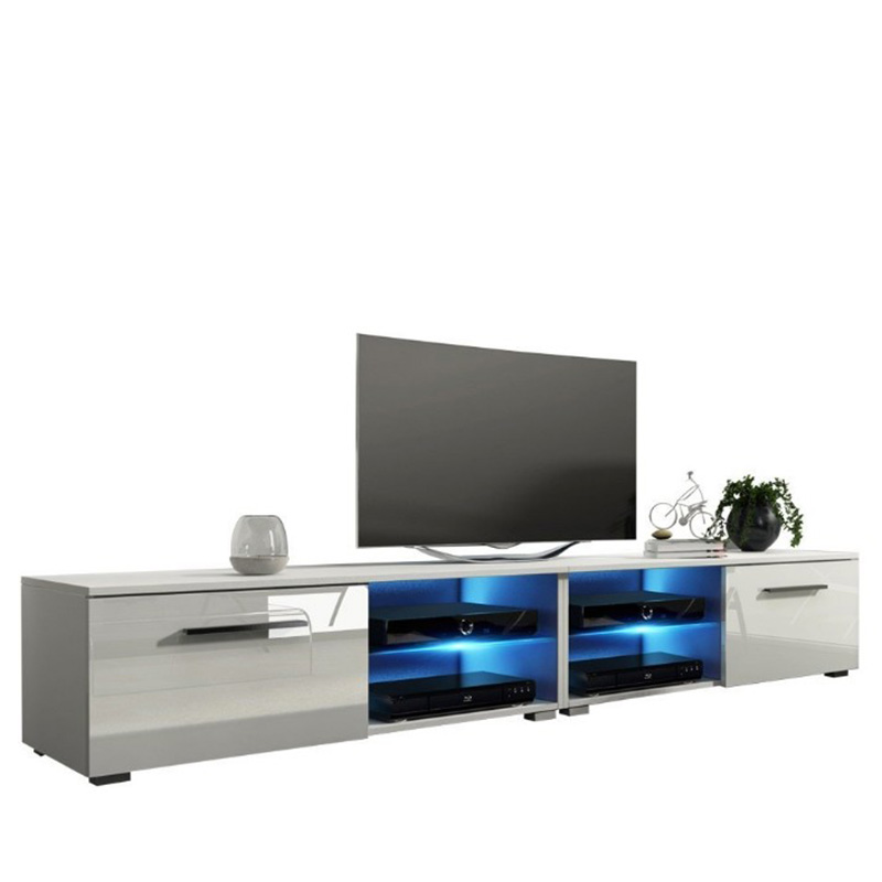 Cheap price Wooden Cabinet - Modern Living Room Long White Tv Cabinets – Joysource
