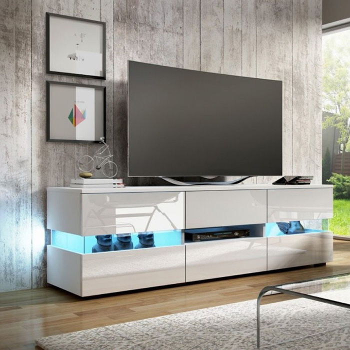 China Tv Cabinet Wood Led Tv Stand Living Room Furniture Partition Tv Stand Manufacturer And Supplier Joysource