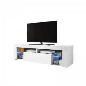 Hot Sale Fashion Design High Gloss UV Wooden LED China Tv Stand