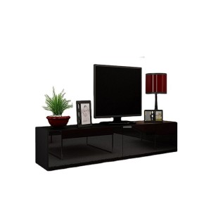 2020 high gloss living room black nordic simple wooden modern cabinet TV Stand