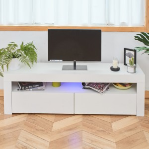 Simple modern tv stand wood tv cabinet design