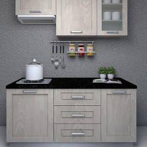 1,1.5m PVC door kitchen cabinet