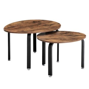 Simple modern 2 Piece Coffee Table Set