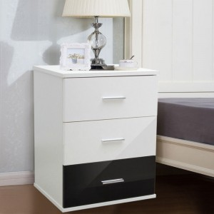 Modern Night Stand Beside Table With Drawers Night Table