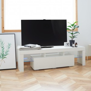 New style living room bedroom modern simple furniture mdf wooden tv cabinet