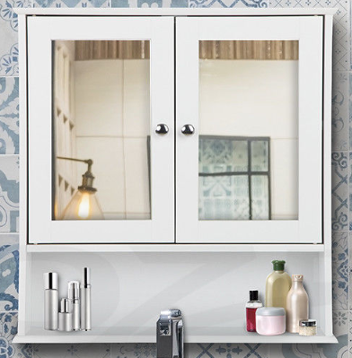 Wall Mounted Mirrored Cabinets Durable Bathroom Vanity Featured Image