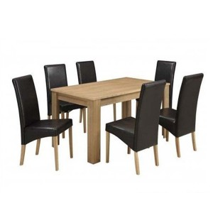 Luxury Design Wooden Dining Table And Chair