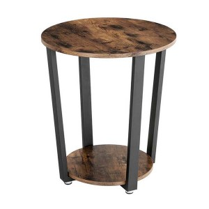 Europe style for Wooden Coffee Table - Round Coffee Table With Storage – Joysource