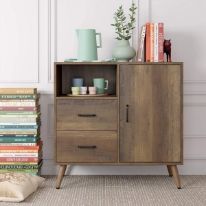 Best Sellers new classic massiv cabinet wood modern buffet furniture sideboard for living room