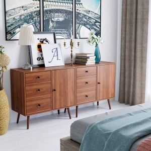 modern classic wood cabinet new massiv buffet furniture sideboard for living room
