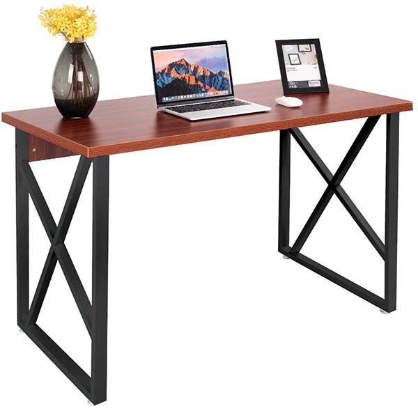 China Manufacturer for White Lacquer Dining Room Furniture - Computer Desk PC Laptop Table Metal Leg Writing Study Workstation Furniture New – Joysource