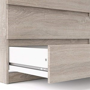 Factory source Tv Cabinet Design - Atlin Designs Contemporary 6 Drawer Double Dresser in Truffle Gray – Joysource