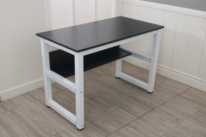 Modern design metal wood pc laptop computer desk table