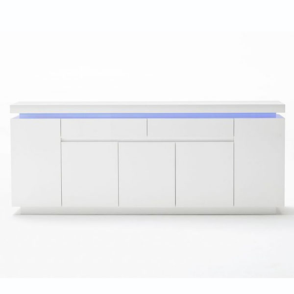OEM Customized Import Furniture From China - Modern Cabinet LED Sideboard Hallway Storage Cupboard Wooden Furniture – Joysource
