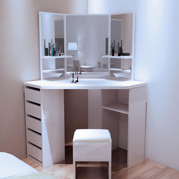 China Factory Selling Simple Design Tv Stand Wooden White Corner 5 Drawers Dressing Table With Stool And Mirror Set For Bedroom Joysource Manufacturer And Supplier Joysource,How To Design Stickers In Photoshop