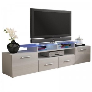 OEM Customized Lcd Led Tv Stand - Industrial Vintage Wood Storage Tv Cabinet  – Joysource