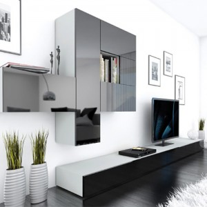 Tv Cabinet Designs Modern Wood Tv Cabinet Stand Design Set