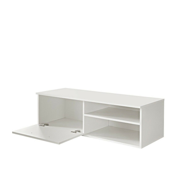 Simple Design Livingroom White Gloss Tv Stand Featured Image