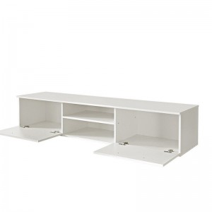 Simple Design Livingroom White Gloss Tv Stand