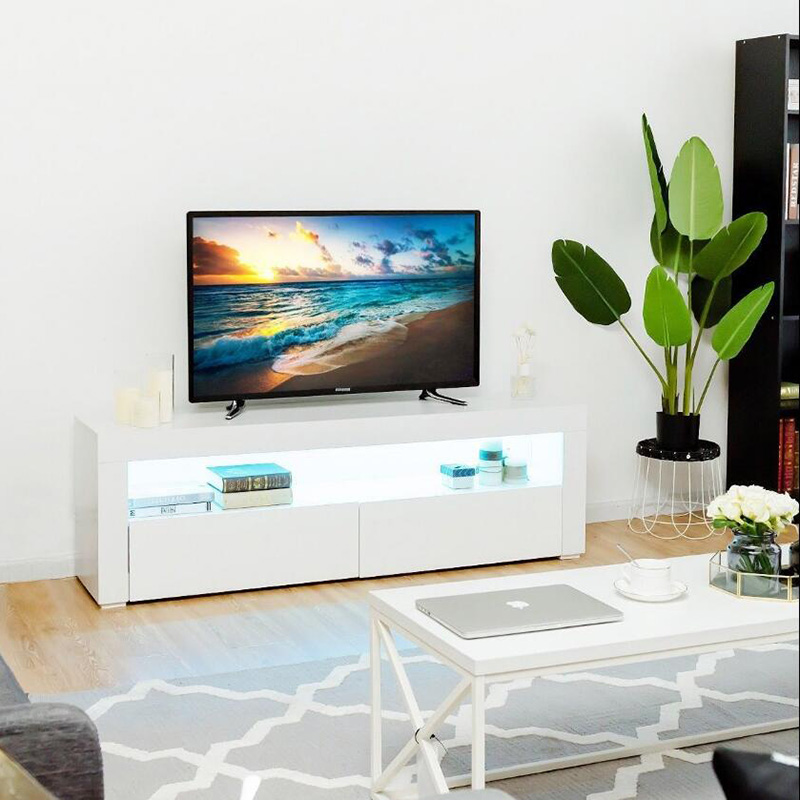 2017 New Style Furniture Tv Stand - Tv Media Cabinet Iron White Cabinet Tv Cabinet – Joysource