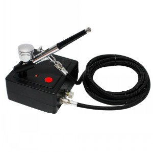 Dual action airbrush compressor  kit  AC06AK30