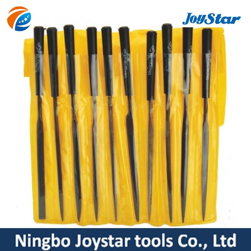 Low price for 10 MINI Small NEEDLE Steel FILE SET MF-002 for South Korea Manufacturer