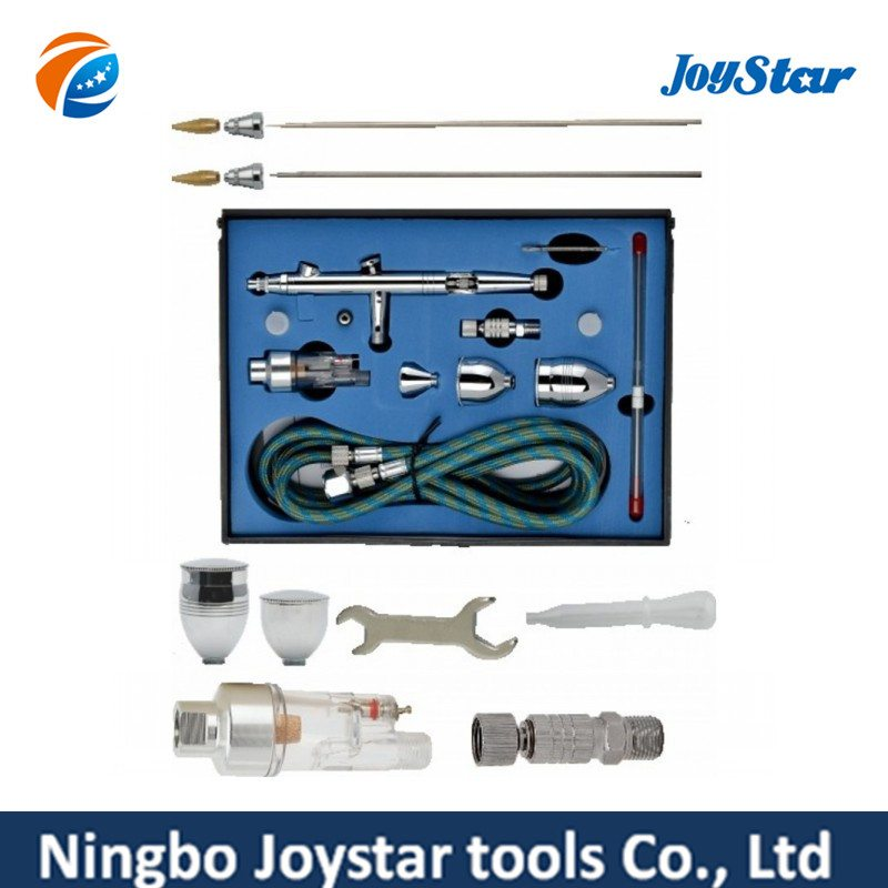 China Gold Supplier for 3 Cups Dual-Action Airbrush Kit for Tattoo AB-183K to Guinea Manufacturer