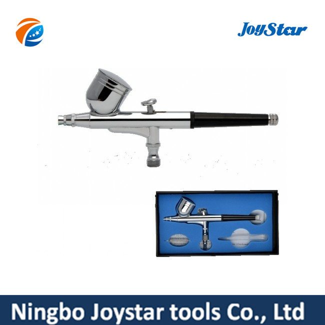 OEM Manufacturer Dual Action Airbrush Kit for Hobby Model Tattoo AB-130 for Guyana Manufacturer detail pictures