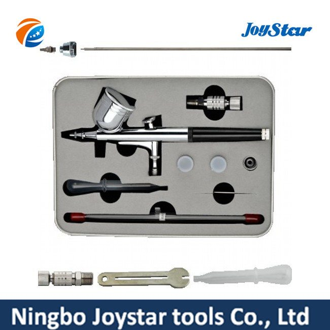 Hot Selling for Dual-Action Gravity Feed Airbrush Gun Set for Makeup X3SK Export to Melbourne