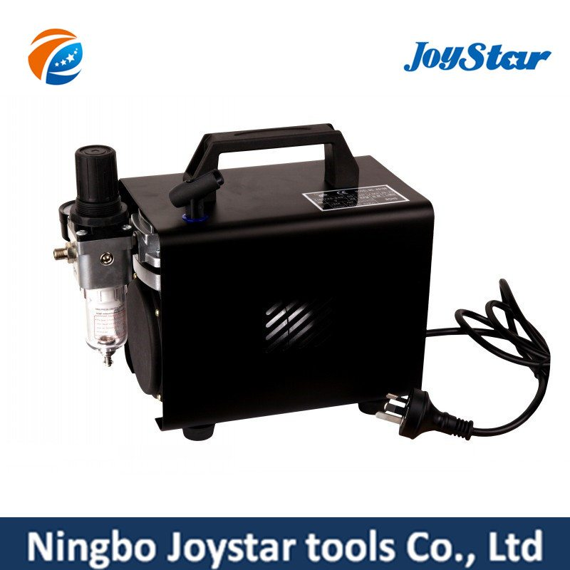 Mini Airbrush Compressor with Cover for Hobby Tattoo AS18A