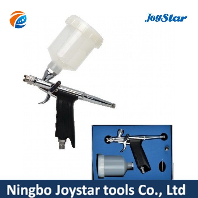 Mj New Double Action Pistol Style Airbrush for Makeup MJ-168