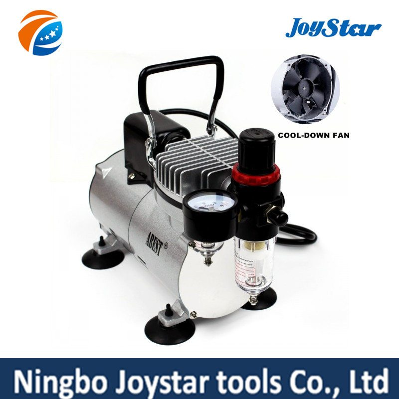 Factory Promotional Professional Airbrush Compressor for Tattoo AS18-2SL Wholesale to Pretoria