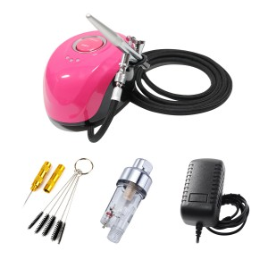 Mini Airbrush Compressor Kit  Model  AC1936DKP