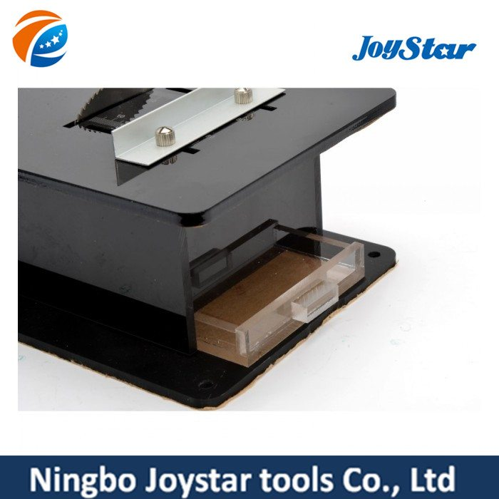 Factory Promotional mini table saw for cutting woods, plastic TS-001S to Slovenia Importers